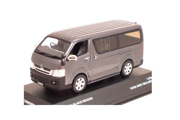 J-COLLECTION 1/43scale Toyota HiaceSuper GL 2005 OPEN  WINDOW Dark Gray Mica Metallic [No.JC35003DG]