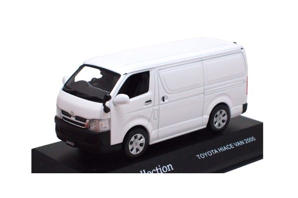 J-COLLECTION 1/43scale Toyota Hiace Van (Closed panels) 2005 White [No.JC36001W]