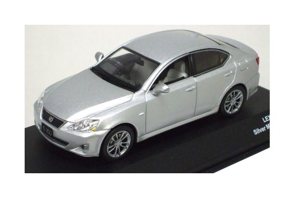 J-COLLECTION 1/43scale LEXUS IS350 SILVER MICA [No.JC37006SM]