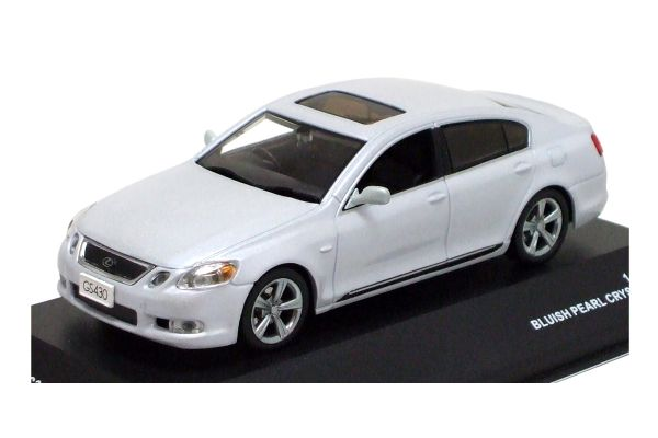 J-COLLECTION 1/43scale Lexus GS430 2006 Blue Pearl Crystal Shine [No.JC38007P]