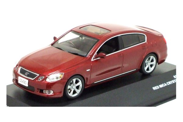 J-COLLECTION 1/43scale Lexus GS430 2006 Red Mica Crystal Shine [No.JC38008RD]