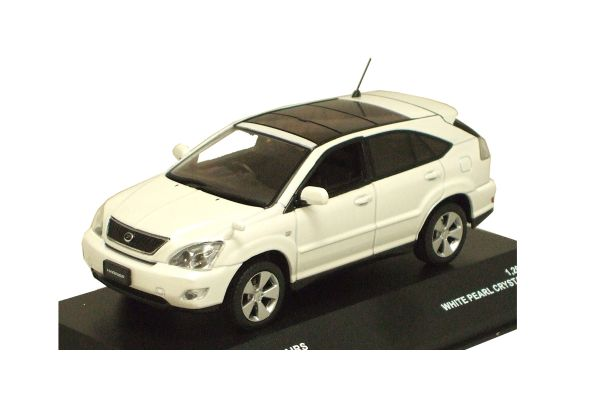 J-COLLECTION 1/43scale Toyota Harrier Airs White Pearl Crystal Shine [No.JC42006WP]