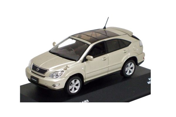 J-COLLECTION 1/43scale TOYOTA Harrier Airs 2006 Beige Mica [No.JC42009BE]