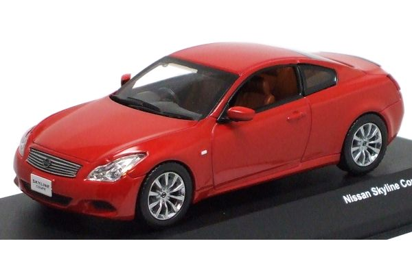 J-COLLECTION 1/43scale Skyline Coupe 370 2007 Red [No.JC48001RD]