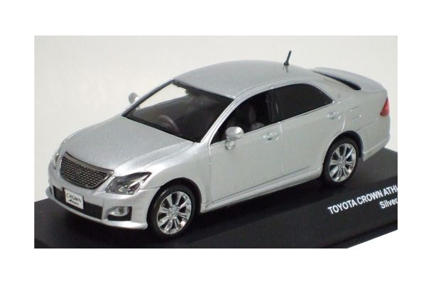 J-COLLECTION 1/43scale TOYOTA New CROWN ATHLETE Silver Mettallic [No.JC51201SL]
