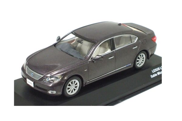J-COLLECTION 1/43scale LEXUS LS600hL Sable Mica Metallic *Grey [No.JC52006SM]