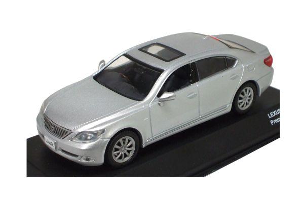 J-COLLECTION 1/43scale LEXUS LS460L Silver [No.JC52504SL]