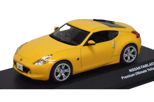 J-COLLECTION 1/43scale NISSAN Fairlady Z ( Z34) PremiumUltimateYellow [No.JC54002UY]