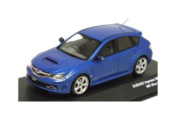 J-COLLECTION 1/43scale SUBARU Impreza WRX Sti 2008 WR Blue Mica [No.JC57003BM]