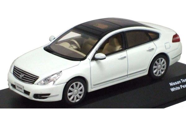 J-COLLECTION 1/43scale NISSAN Teana 2008 White Pearl [No.JC58001WH]