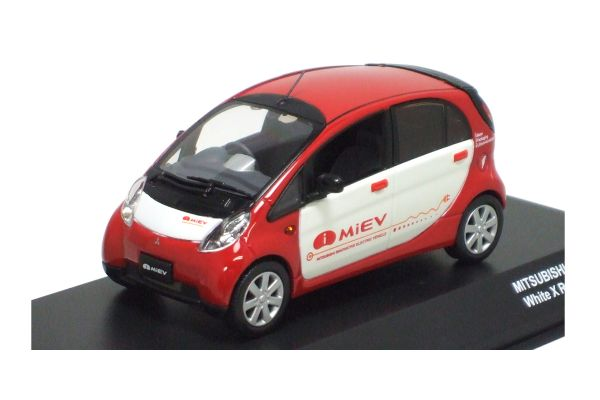 J-COLLECTION 1/43scale MITSUBISHI I-MiEV production version Red/White [No.JC59002WR]