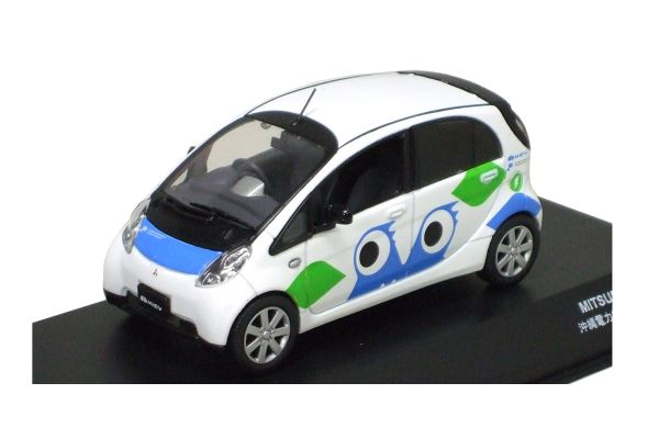 J-COLLECTION 1/43scale Mitsubishi i-MiEV Okinawa Electric Power