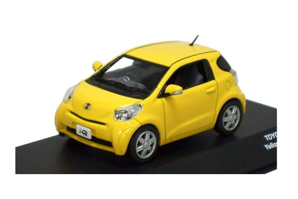 J-COLLECTION 1/43scale TOYOTA IQ Yellow [No.JC60001YL]