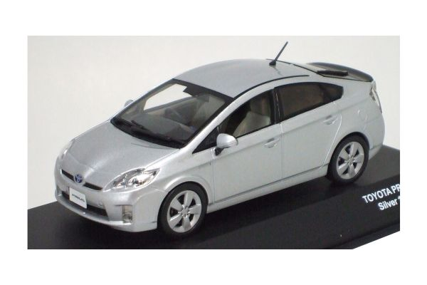 J-COLLECTION 1/43scale TOYOTA PRIUS 2009 Silver Metallic [No.JC61001SM]