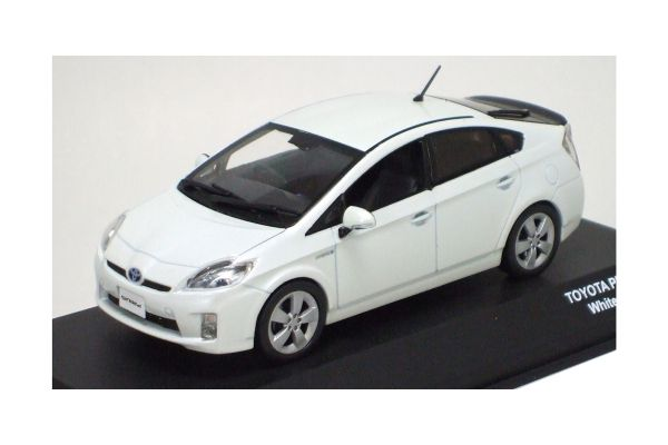 J-COLLECTION 1/43scale TOYOTA PRIUS 2009 White [No.JC61002WH]