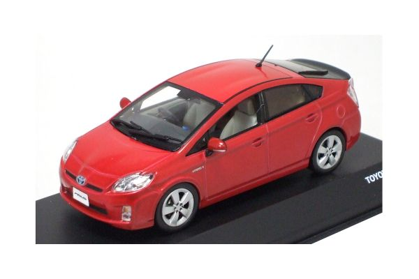 J-COLLECTION 1/43scale TOYOTA PRIUS Red Mica [No.JC61008RM]