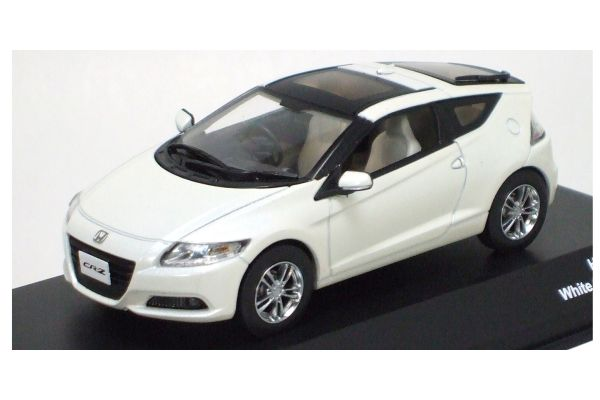 J-COLLECTION 1/43scale HONDA CR-Z Sky Roof White [No.JC63001WH]