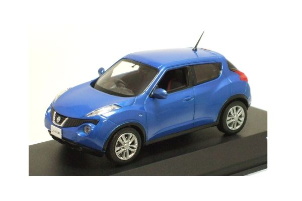 J-COLLECTION 1/43scale NISSAN JUKE Pacific Blue [No.JC64001PB]