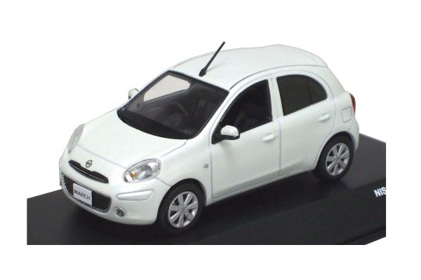 J-COLLECTION 1/43scale Nissan March White [No.JC65001WH]