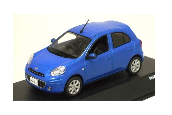 J-COLLECTION 1/43scale Nissan March Pacific Blue [No.JC65002PB]
