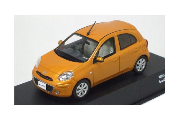 J-COLLECTION 1/43scale NISSAN MARCH Sun Light Orange [No.JC65004OR]