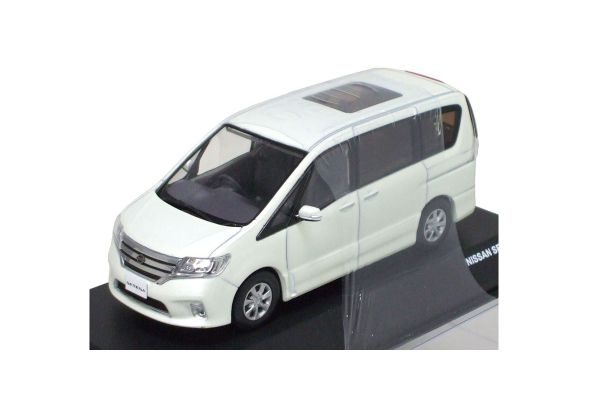 J-COLLECTION 1/43scale NISSAN SERENA White Pearl [No.JC68001WH]