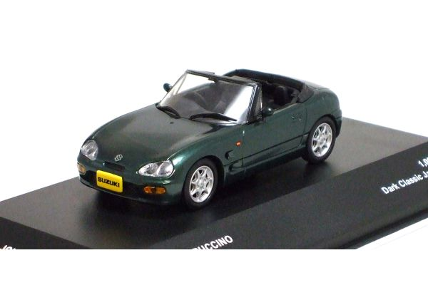 J-COLLECTION 1/43scale Suzuki Cappuccino 1993 Dark Classic Jade Pearl [No.JCK40005G]