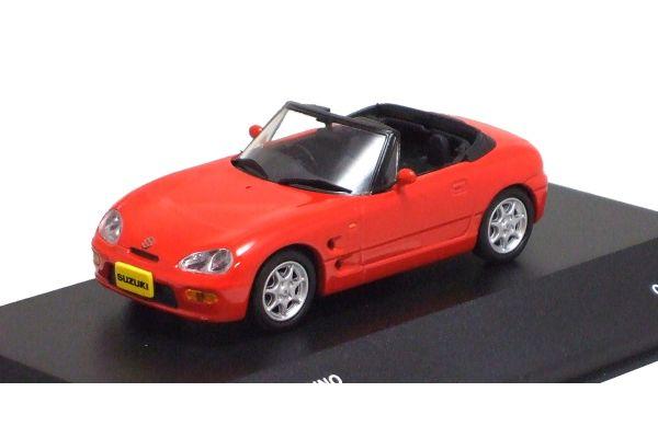 J-COLLECTION 1/43scale Suzuki Cappuccino 1993 Cordoba Red [No.JCK40005R]