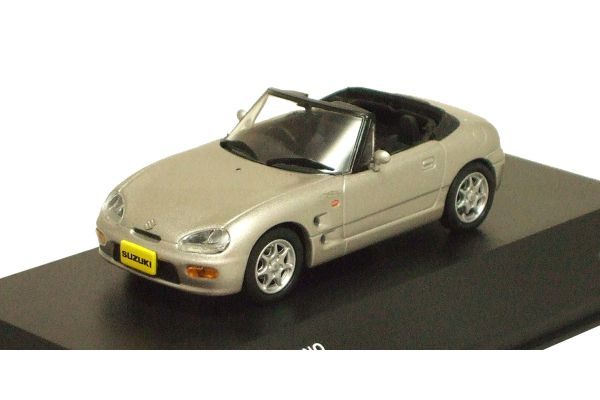 J-COLLECTION 1/43scale Suzuki Cappuccino 1993 Satellite Silver [No.JCK40005S]