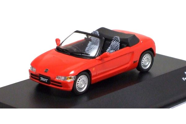 J-COLLECTION 1/43scale Honda Beat 1991 Festival Red [No.JCK41002R]