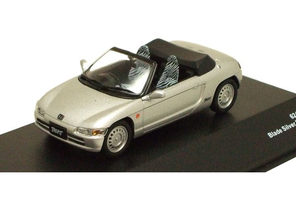 J-COLLECTION 1/43scale Honda Beat 1991 Brade Silver Metallic [No.JCK41002S]