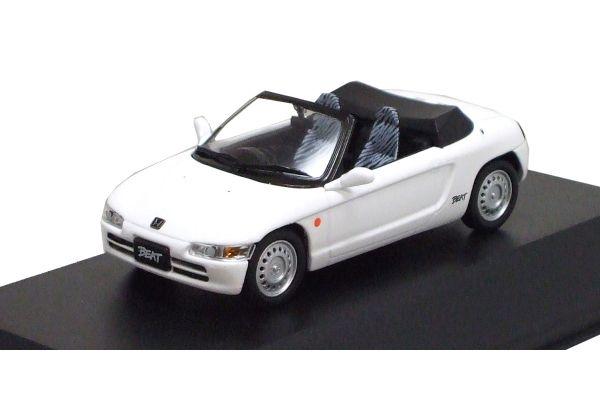 J-COLLECTION 1/43scale Honda Beat 1991 (No Rear Wing) White [No.JCK41002W]