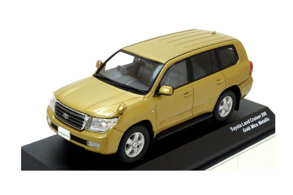 J-COLLECTION 1/43scale TOYOTA Land Cruiser 200 Gold Mica Metallic [No.JCP69006GM]