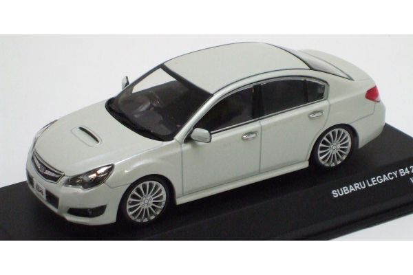 J-COLLECTION 1/43scale SUBARU LEGACY B4 2.5GT S-Package White [No.JCP70002W]
