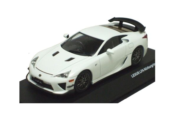 J-COLLECTION 1/43scale LEXUS LFA Nurburgring Package White [No.JCP71004NW]