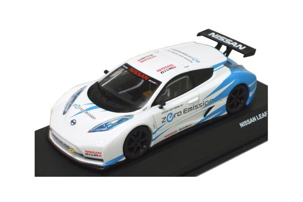 J-COLLECTION 1/43scale NISSAN LEAF NISMO RC White/Blue [No.JCP72001WH]