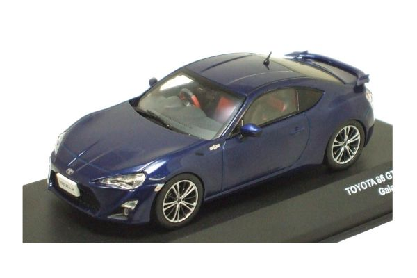 J-COLLECTION 1/43scale TOYOTA 86 GT Limited Galaxy Blue Silica [No.JCP73005BL]