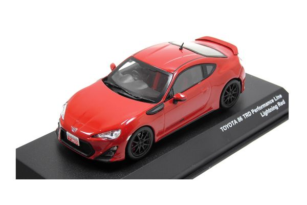 J-COLLECTION 1/43scale TOYOTA 86 TRD Performance Line Lightnig Red [No.JCP73015RD]