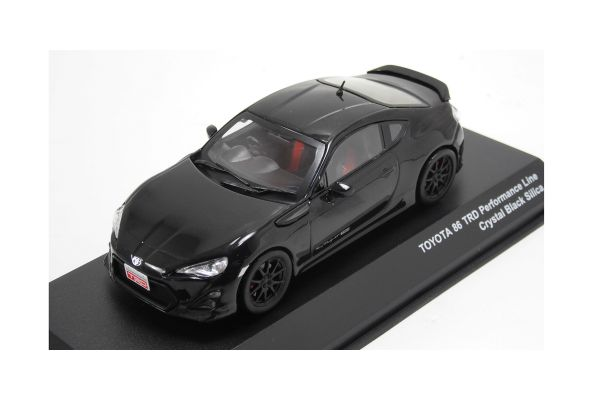J-COLLECTION 1/43scale TOYOTA 86 TRD Performance Line Crystal Black Silica [No.JCP73016BK]
