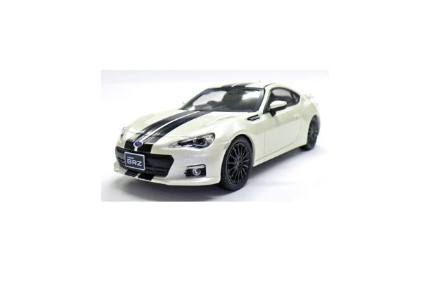 J-COLLECTION 1/43scale Subaru BRZ White/Black line [No.JCP74009WL]