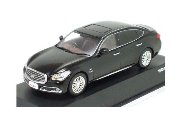 J-COLLECTION 1/43scale NISSAN CIMA (HGY51) Black [No.JCP75002BK]