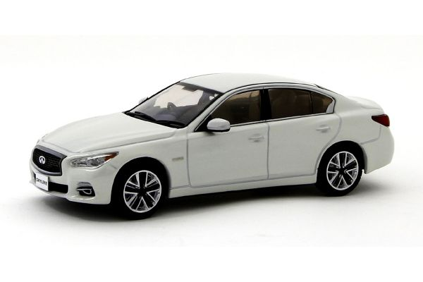 J-COLLECTION 1/43scale SKYLINE 350GT HYBRID V37 Crystal White Pearl [No.JCP85001WH]