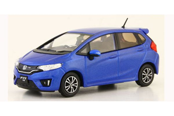 J-COLLECTION 1/43scale Honda Fit Blue Metallic  [No.JCP86001BL]