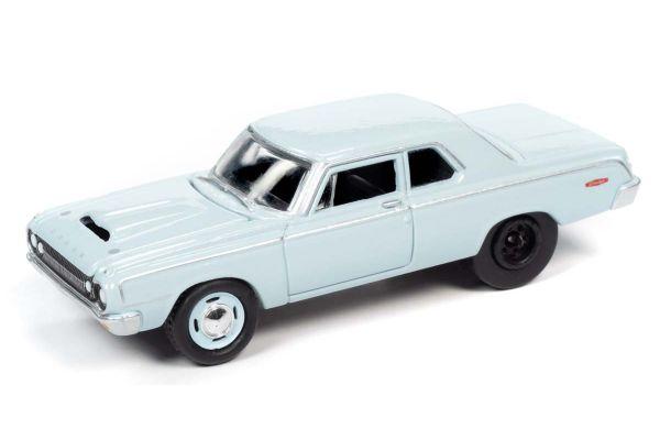 JOHNNY LIGHTNING 1/64scale 1964 Dodge 330 Light Blue  [No.JLCG022A5BL]