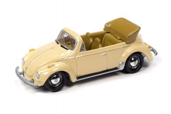 JOHNNY LIGHTNING 1/64scale 1975 VW Super Beetle Convertible Cream  [No.JLCT005B1CR]