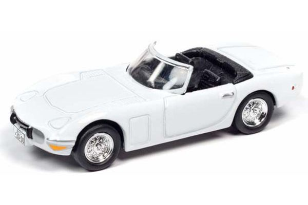 JOHNNY LIGHTNING 1/64scale 1967 James Bond Toyota 2000GT