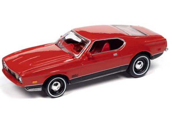 JOHNNY LIGHTNING 1/64scale 1971 James Bond Ford Mustang Mach 1