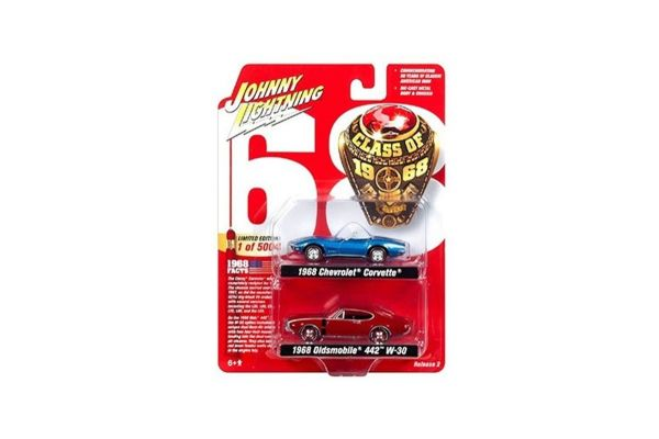 JOHNNY LIGHTNING 1/64scale Johnny Lightning  2-Pack Special