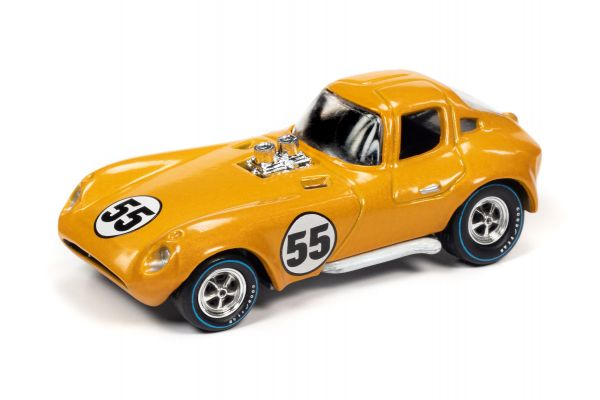 JOHNNY LIGHTNING 1/64scale Chevrolet Cheetah Orange Yellow (Spoiler)  [No.JLSF017A3Y]
