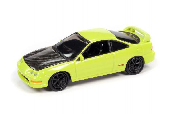 JOHNNY LIGHTNING 1/64scale 1997 Acura Integra Yellow (Import Heat)  [No.JLSF017A6Y]
